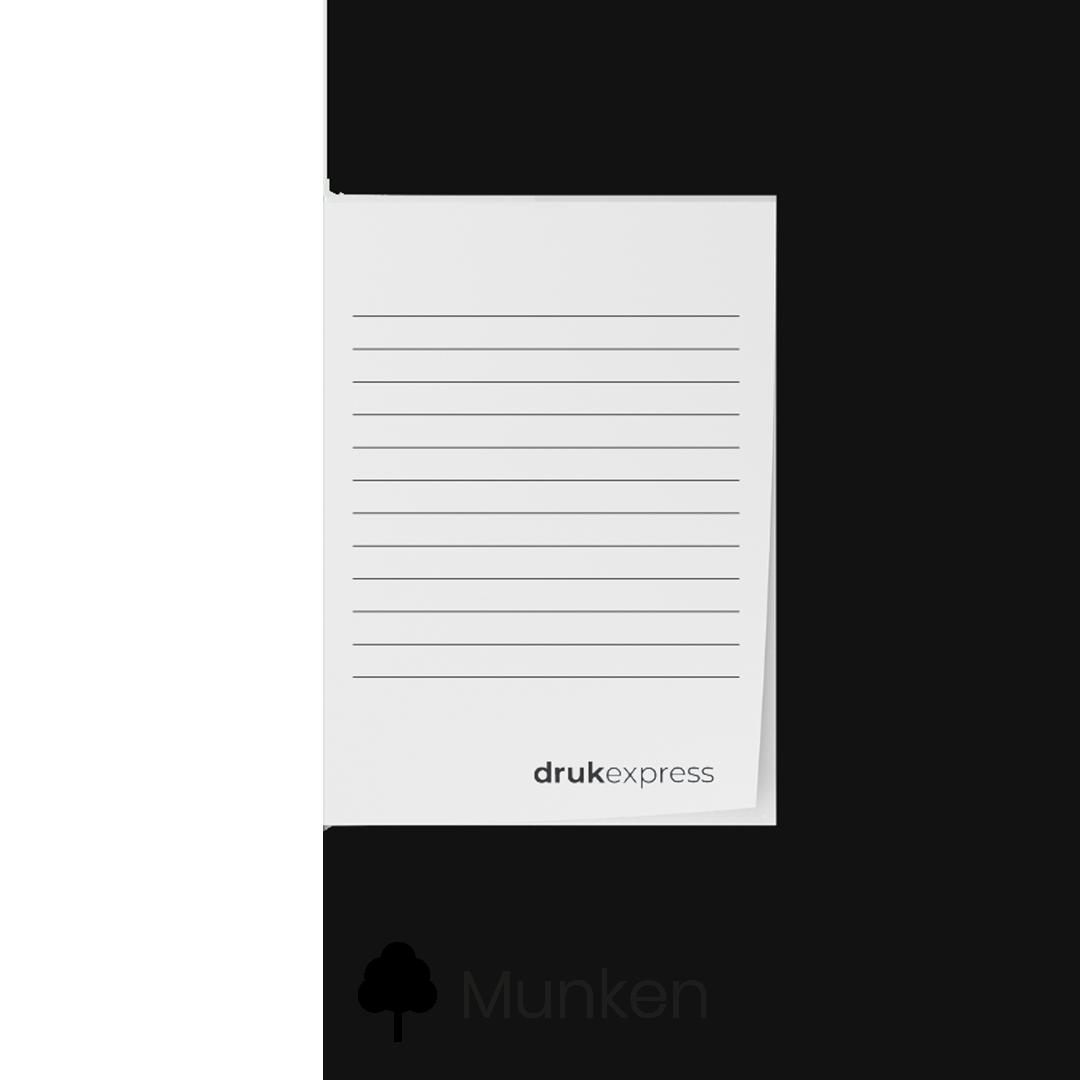 Notes klejony Munken
