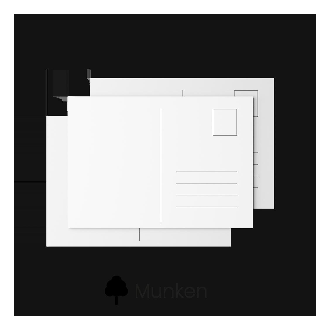 Pocztówki Munken
