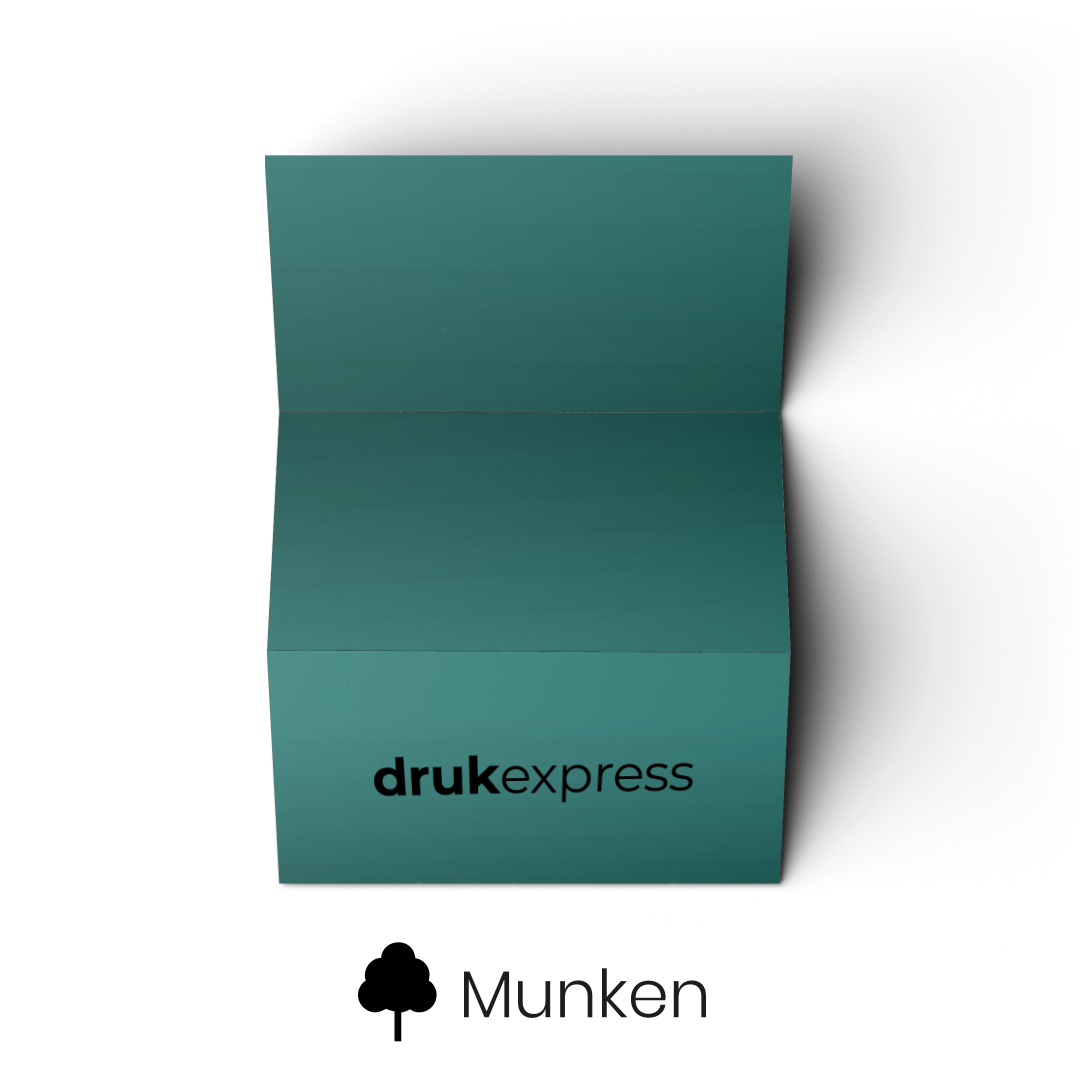 Ulotki składane Sleeking Munken